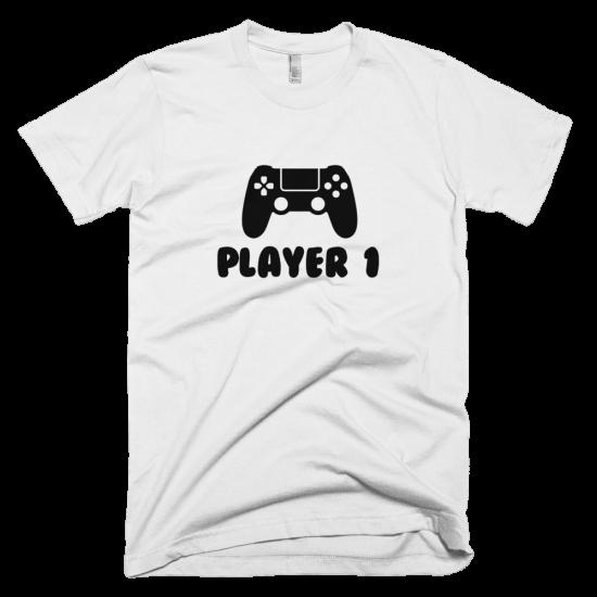 Тениска с щампа Player 1