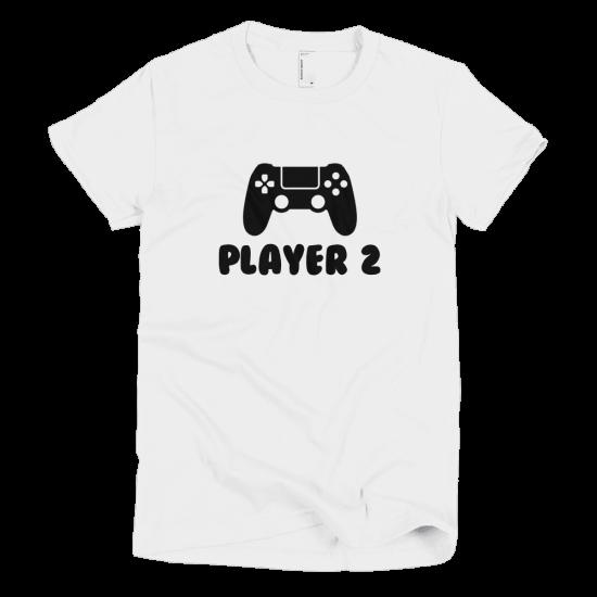 Тениска с щампа Player 2