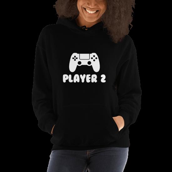 Суичър с щампа Player 2