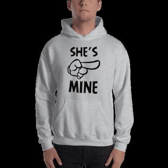 Суичър с щампа She's mine
