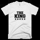 Тениска с щампа The King