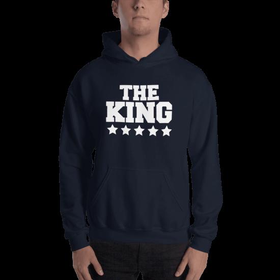 Суичър с щампа The King