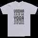 Тениска с щампа Vodka is a lot like Yoga
