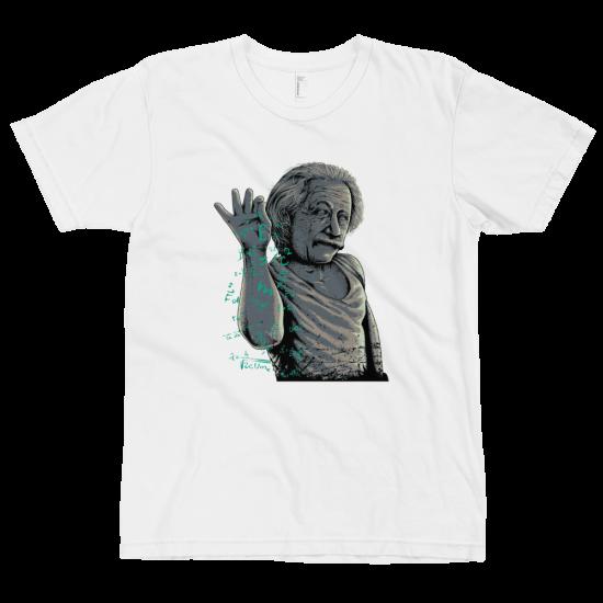 Тениска с щампа Einstein Bae