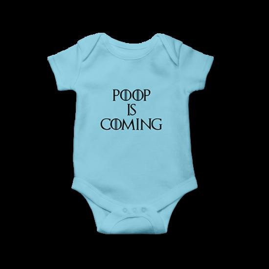Бебешко боди Poop is coming