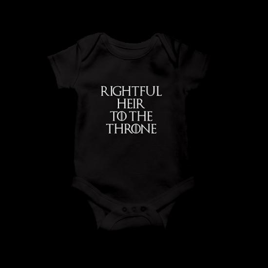 Бебешко боди Rightful heir to the throne