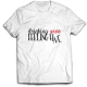 Тениска с щампа DRINKING WINE FEELING FINE