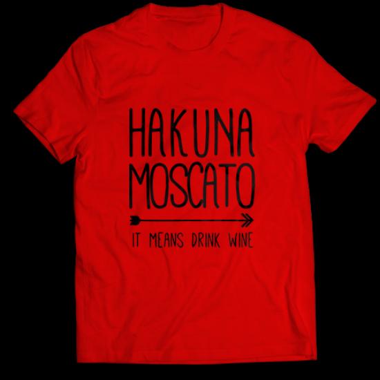 Тениска с щампа HACUNA MOSCATO