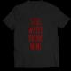 Тениска с щампа SAVE WATER DRINK WINE