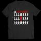Тениска с щампа BE DIFFERENT