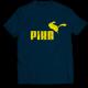 Mъжкa тениска с щампа PIKA