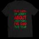 Тениска с щампа DEAR SANTA