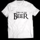 Тениска с щампа LORD OF THE BEER