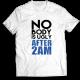 Mъжкa тениска с щампа NOBODY IS UGLY AFTER