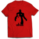 Тениска с щампа IRON MAN
