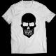 Тениска с щампа PARTY HARD SKULL
