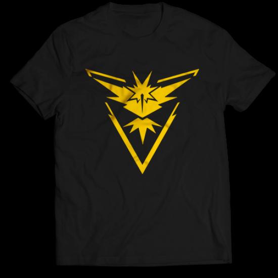 Тениска с щампа на Pokémon Go - Instinct