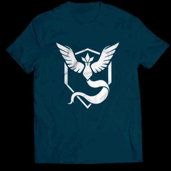 Тениска с щампа на Pokémon Go - Mystic