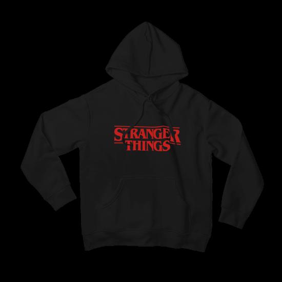 Суичър с щампа Stranger Things