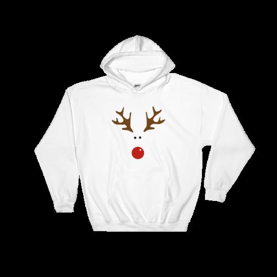 Суичър с щампа Rudolph