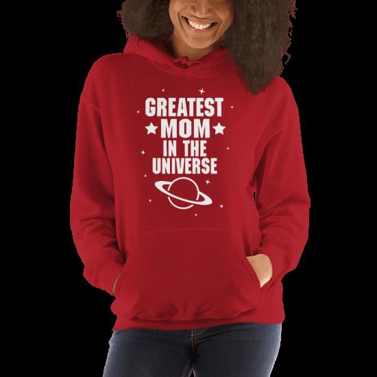 Суичър с щампа Greatest Mom in the Universe