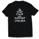 Тениска с щампа KEEP CALM AND SUPPORT CHELSEA