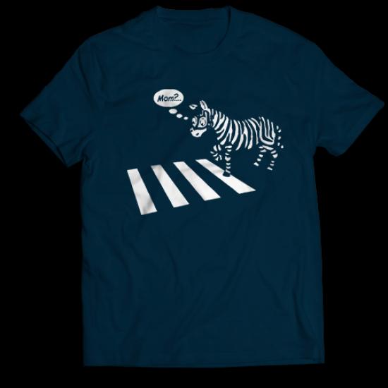 Тениска с щампа ZEBRA