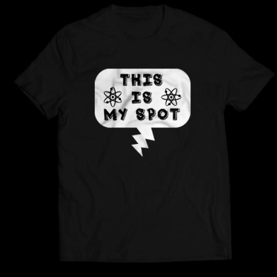 Мъжкa тениска с щампа  THIS IS MY SPOT