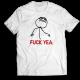 Тениска с щампа FUCK YEA.