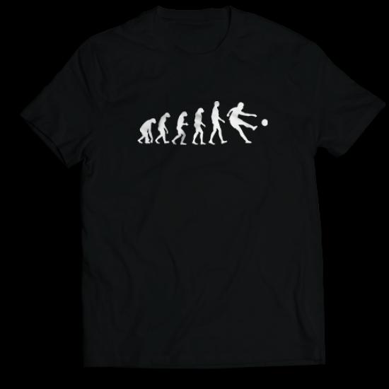 Тениска с щампа FOOTBALL EVOLUTION