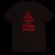 Тениска с щампа KEEP CALM AND FORZA MILAN