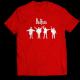 Тениска с щампа THE BEATLES