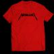 Тениска с щампа METALICA