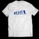 Тениска с щампа SKATE EVOLUTION