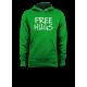 Мъжки суичър с щампа FREE HUGS