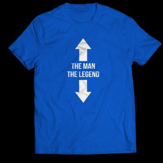 Тениска с щампа  THE MAN - THE LEGEND