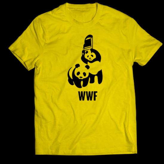 Тениска с щампа WWF