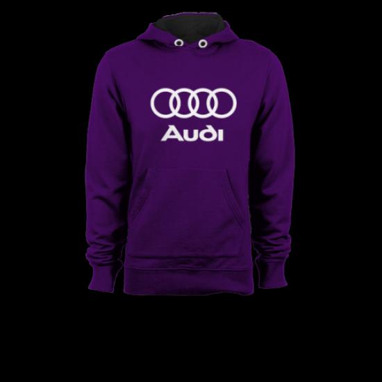 Суичър с щампа Audi