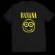 Тениска с щампа BANANA NIRVANA