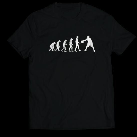Тениска с щампа BASKETBALL EVOLUTION