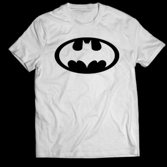 Тениска с щампа BATMAN LOGO