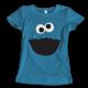 Тениска с щампа COOKIE MONSTER