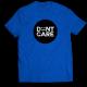 Тениска с щампа DON'T CARE