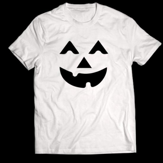 Тениска с щампа HALLOWEEN SMILE