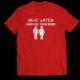 Тениска с щампа SAVE WATER, SHOWER TOGETHER
