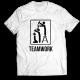 Тениска с щампа TEAMWORK