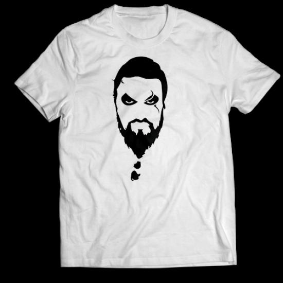 Тениска с щампа KHAL DROGO