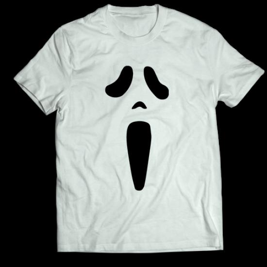 Тениска с щампа SCARY MOVIE