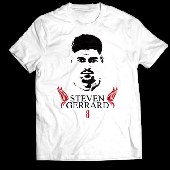 Тениска с щампа STEVEN GERRARD