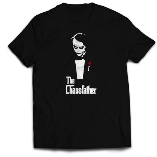 Мъжкa тениска с щампа THE CHAOSFATHER
